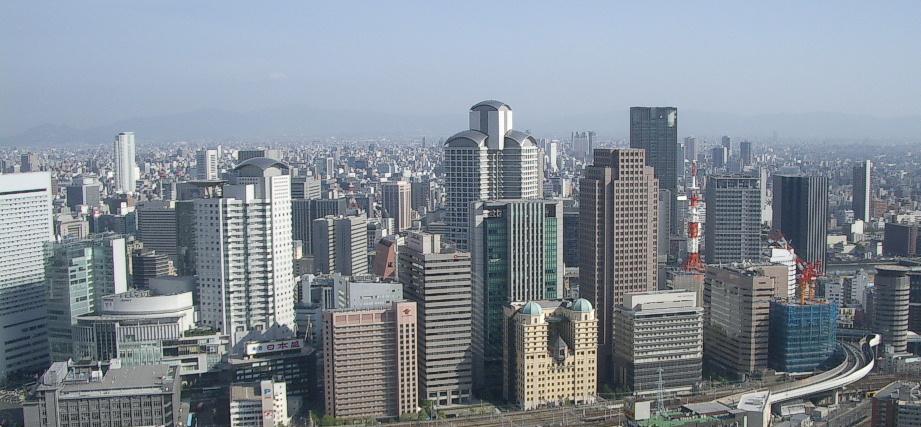 西梅田高層ビル群